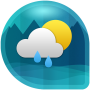icon Weather & Clock Widget for Android (Air Forecast) (Android için Hava Durumu ve Saat Widgetı (Hava Durumu))