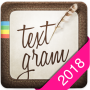 icon Textgram - write on photos (Textgram - fotoğraflara yaz)