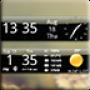icon Smoked Glass Weather Clock (Füme Cam Hava Saati)